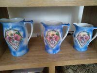 trio of jugs