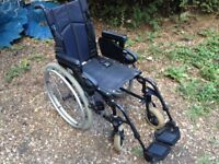 Sunrise Medical Quickie F16 RXS Folding Wheelchair