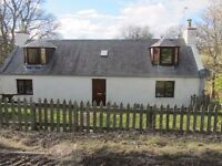 Re advertised - Detached 2 Bed cottage Forgue, 15mins Huntly, 30 mins to Inverurie
