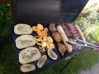 Charcoal barrel barbecue for sale