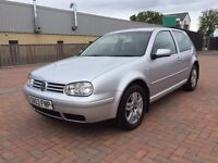 Vw Golf GT TDI 130 Bhp ** MOT 22/07/17 **