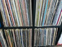 750+ LP's and 12''