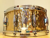 Gretsch S6514-BRH Full Range Hammered Brass Snare Drum 6.5x14 ON SALE
