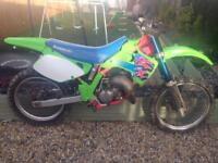 1992 Kawasaki kx125 motocross bike