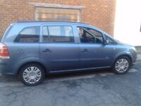 Vauxhall Zafira in excellent driving condition MOT April 2017