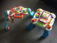 Baby walker and standing toy
