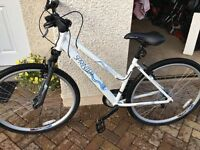 "Woman's 18"" Apollo Hybrid Bike as new"