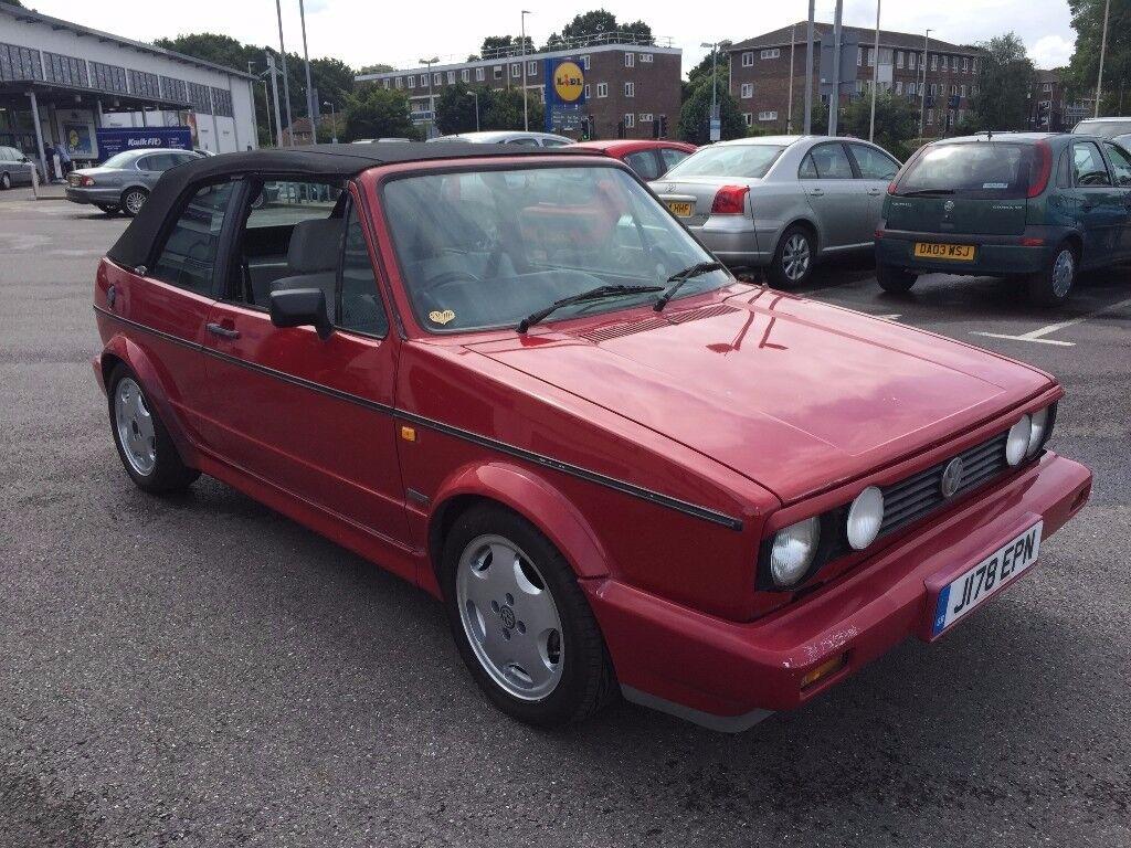 1991 CLASSIC MK1 VOLKSWAGEN GOLF CLIPPER CABRIO UN-FINISHED PROJECT £1995 O-N-O