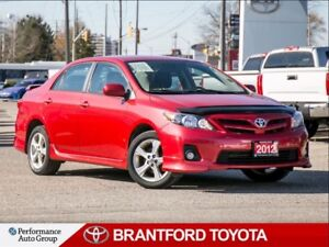 2012 Toyota Corolla S, New Tires!, Manual Transmission, Alloys