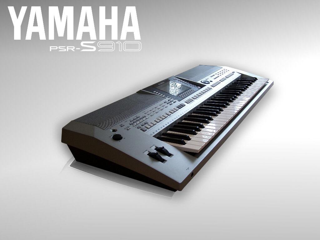 Refurbished yamaha psr s910 usb lan stand usb for Yamaha refurbished warranty