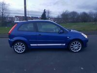 2006 55 FORD FIESTA ST 2.0 EXCELLENT CONDITION FULL SERVICE HISTORY LOW MILES