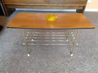 Vintage 1960's Wire Rack Coffee Table