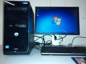 HP Pro 3500 - i3 2120. 4GB RAM, 500GB HDD