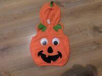 Children's pumpkin costume