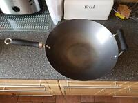 X large wok - used once
