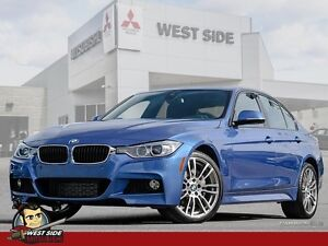 2015 BMW 3 Series 335i-Accident Free-One Owner-$194/WEEK