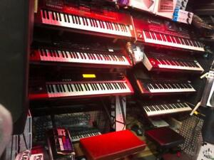 PIANO - SYNTETISEUR - ARRANGEUR * ROLAND - ALESIS - KORG - KURZWEIL - BOSS - WALLDORF * ET PLUS
