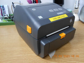 Zebra ZD420d 6x4 USB Wireless LAN Thermal Label Printer ZD42042 DOEW02EZ +PEELER