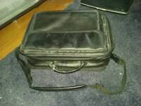 Leather laptop bag great cond