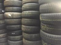 GRADE A QUALITY, PRESSURE TESTED PART WORN TYRES @ SAMS TYRES BRISTOL