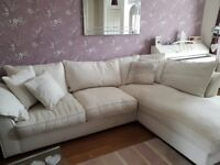 Corner sofa, Collins and Hayes make, bought from Furniture Village
