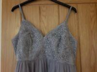 Beautiful maternity bridesmaid dress