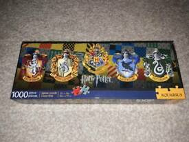Harry potter crest puzzle