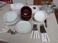 Bargain Crockery/Cutlery collection