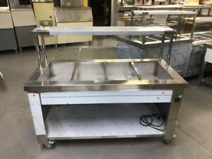 HOT/STEAM BUFFETS AND TABLES