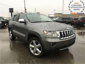 2011 Jeep Grand Cherokee OVERLAND**LEATHER**PANORAMIC SUNROOF**