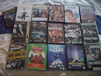 Bundle of 16 DVDs - Great Selection!