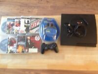Ps3 with 12 games a controller and a new HDMI cable