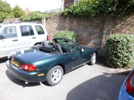 My MX5 Toy 2002 1.6i Full Service History MOTSept2018 Immaculate BRG