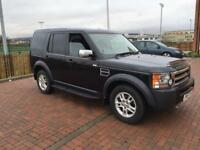 Land Rover discovery 3 GS 2.7 tdv6 7 seater fsh manual 2008 registered