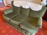 Vintage 1950's 3 piece suite