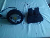 Gamepad, Joystick and gamewheel for pc