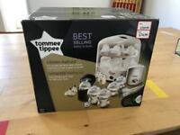 Tommee Tippee steam steriliser feeding set
