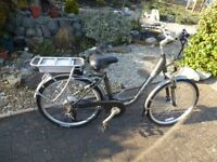 Claude Butler electric bicycle