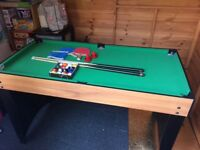 Pool/table tennis/air hockey table