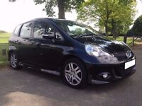 (2007) HONDA JAZZ SPORT 1.3 i-DSi BLACK 1 PRIVATE OWNER ONLY 65K MILES FULL HONDA HISTORY 7 STAMPS