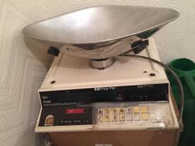 Weighing scales shop