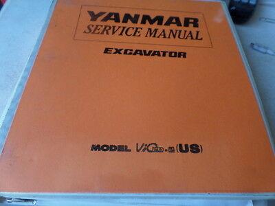 Yanmar Vio 40 Roller Assembly Manual
