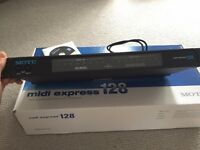 MOTU Midi Express 128 - bus powered 8x8 midi interface