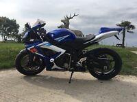 Suzuki GSXR750 K6 750cc blue and white very good condition