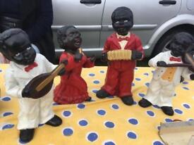 Beautiful 1960s Jazz Band Figurines
