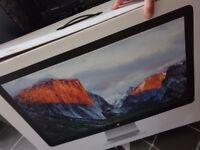 "Apple thunderbolt 27 for MacBook mac mini . Display 27"" Widescreen Monitor built-in Speakers"