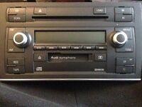 Genuine Audi a4 b7/b6 sterio cd/cassette