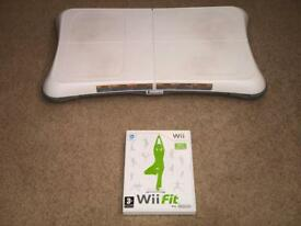 Wii Fit with balancing board