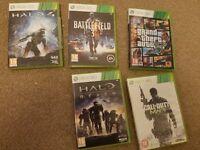5 Xbox 360 games