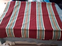 VW Type 2 Camper Retro Canvas Striped Canopy